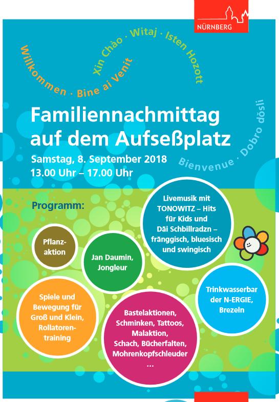 Familiennachmittag Nürnberg