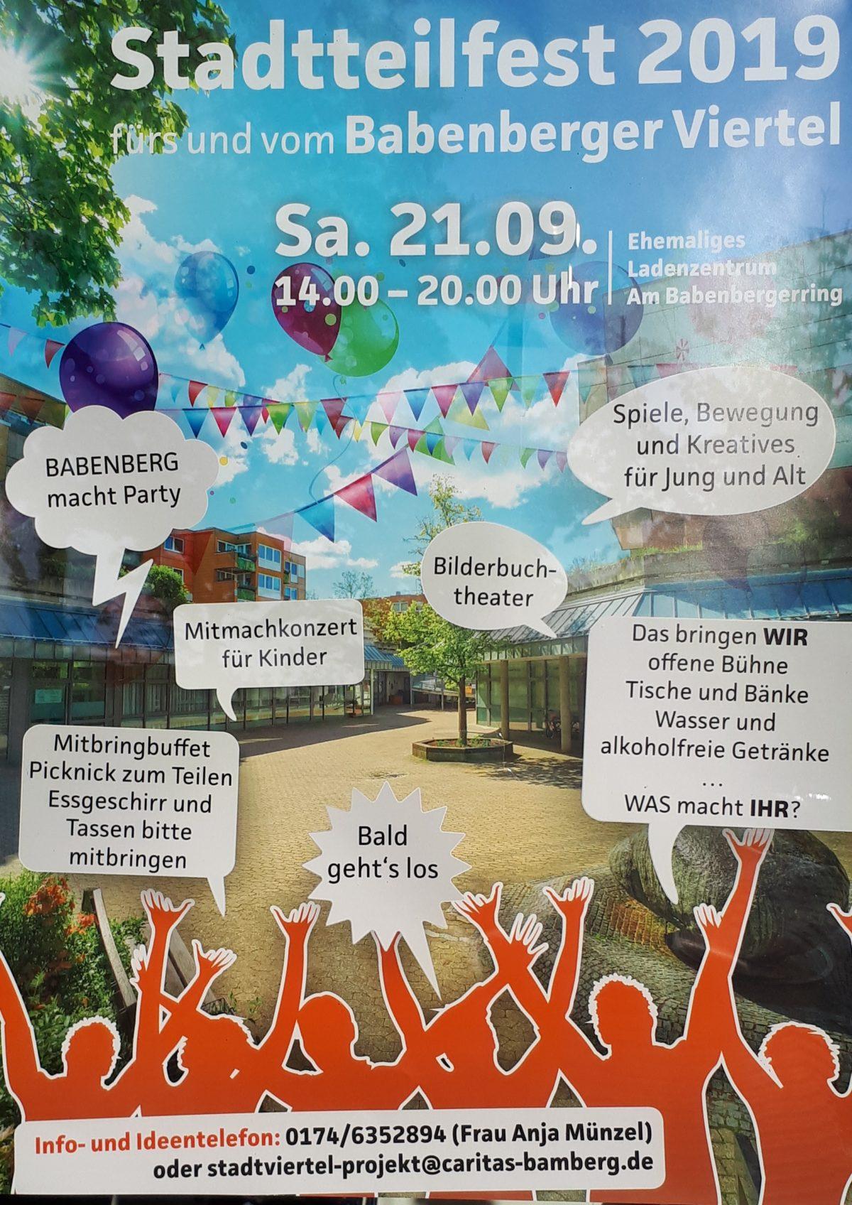 Stadtteilfest Bamberg