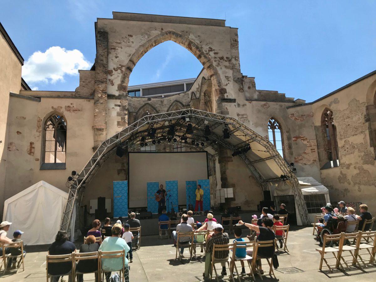 Katharinen-Ruine Nürnberg – JUHU – endlich wieder live spielen