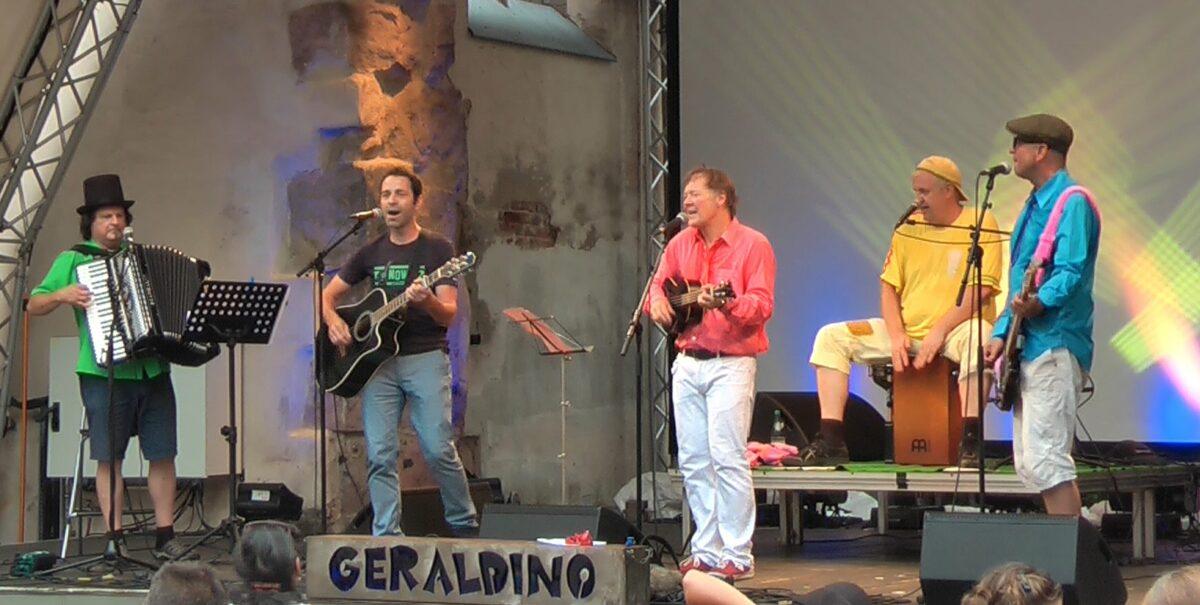 TONOWITZ + GERALDINO und die Plomster