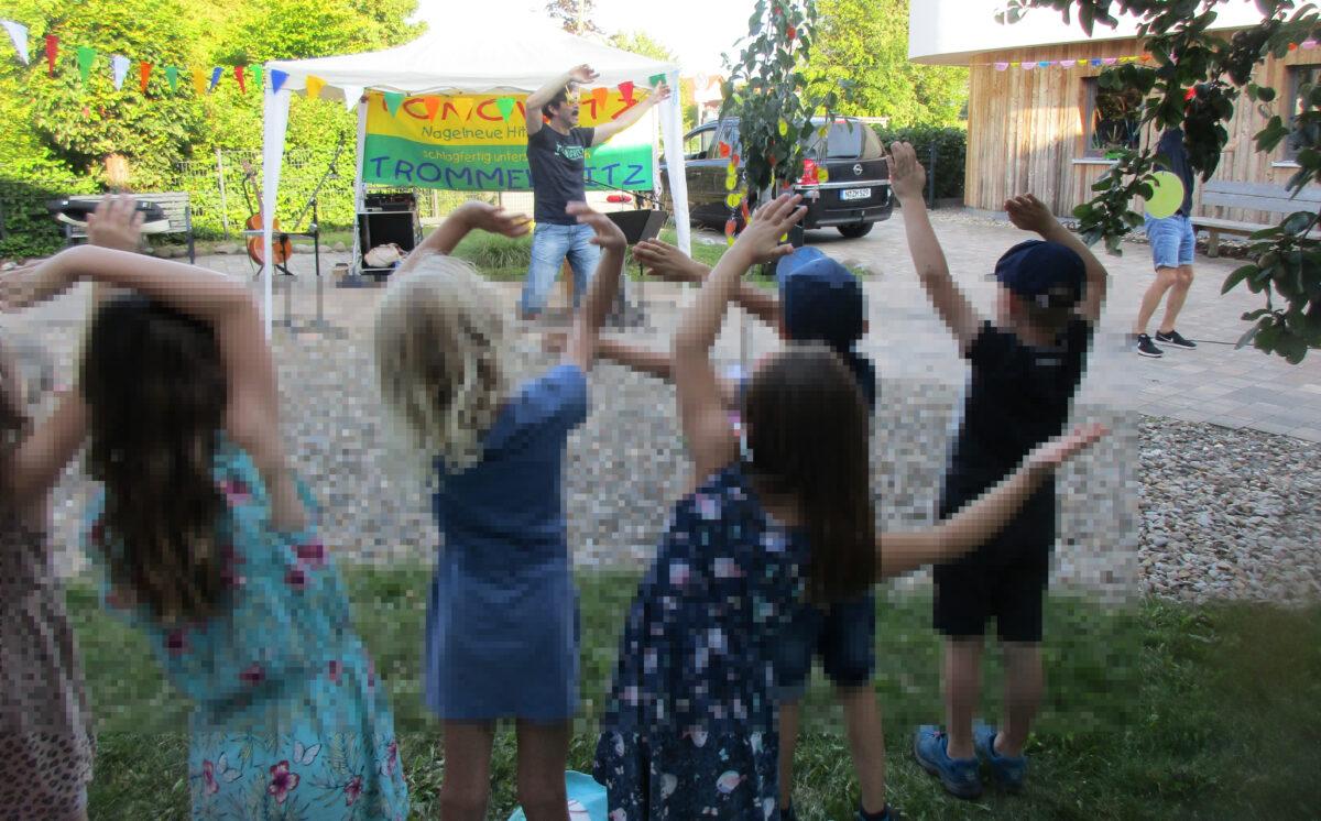 Kindergartenabschied in Frensdorf